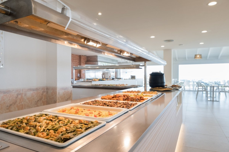 S'aigu buffet carema beach menorca