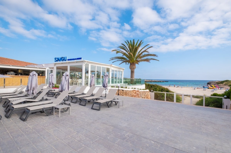 S'aigu beach bar carema beach menorca