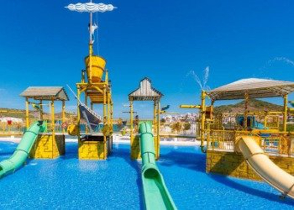 Splash park carema club resort menorca