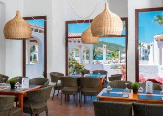 Restaurant carema garden village menorca